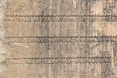Stenbakgrund med inskrifter royaltyfria foton