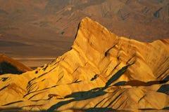 Stenbildande på Death Valley Arkivfoton