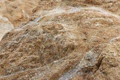 Stenblock och vaggar på kuster av fågeln vaggar, Pebble Beach, 17 mil drev, Kalifornien, USA Fotografering för Bildbyråer