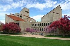 stenblockcolorado universitetar Arkivbilder