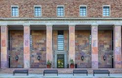 stenblockcolorado universitetar royaltyfri foto