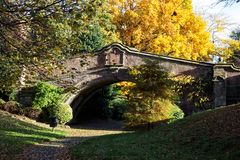 Stenbro i Wirral Arkivbilder