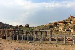 Stenbyggnader Arkivfoto