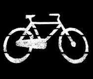 Stencil bike Stock Photos