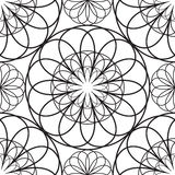 Stencil patterns. On a white background Royalty Free Stock Image