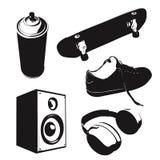 Stencil set. Vector illustration, you can download addition eps format royalty free illustration