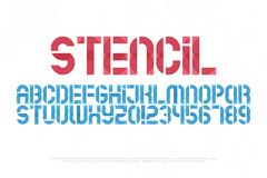 Stencil Stock Photography