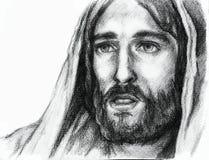 Jesus Kristus av Nazareth Royaltyfria Foton