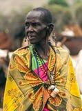 Stående av masaien Mara Royaltyfri Foto
