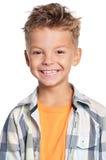 Stående av pojken Arkivbild