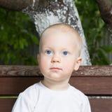 Stående av pojken Fotografering för Bildbyråer