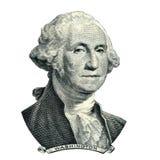 Stående för president Washington George Arkivbild