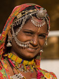 Ståendeindierkvinna Royaltyfri Foto