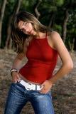 ståendekvinna Royaltyfria Bilder
