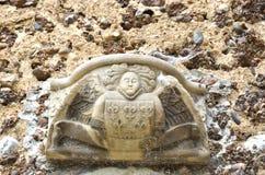 Stendetalj ovanför dörr royaltyfri foto