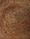 Stenditura circolare del mattone antico Fotografie Stock Libere da Diritti