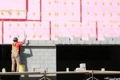Stenditura dei blocchi. Fotografia Stock Libera da Diritti