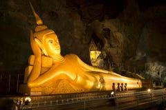 Stenditura del Buddha Immagine Stock