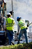 Stenditura dell'asfalto Immagine Stock Libera da Diritti
