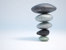 Stenen in balans Royalty-vrije Stock Afbeelding