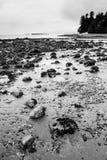 Stenen bij Tweede Strand Royalty-vrije Stock Foto's