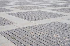 Stenen die de oude textuurachtergrond bedekken Royalty-vrije Stock Fotografie
