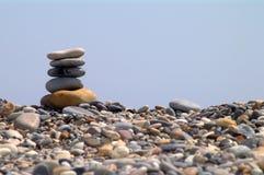Stenen en hemel Royalty-vrije Stock Fotografie