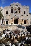 Stenen en kerk Royalty-vrije Stock Afbeeldingen