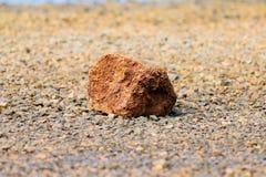 Stenen en rots royalty-vrije stock foto