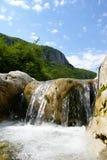 Stenen en water royalty-vrije stock fotografie