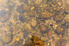 Stenen en zand Royalty-vrije Stock Afbeelding