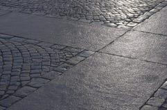 Stenen, gebied. Stock Afbeelding