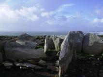 Stenen in Gwendrez stock afbeeldingen