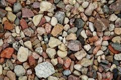 Stenen in het arboretum royalty-vrije stock afbeelding