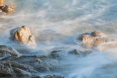 Stenen in het overzees Stock Afbeeldingen