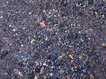 Stenen in het zand Royalty-vrije Stock Foto