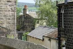Stenen-huis-Yorkshire Royalty-vrije Stock Foto