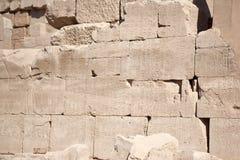 Stenen met hierogliphs Stock Afbeelding