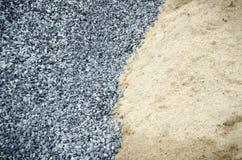 Stenen och sanden Royaltyfria Foton