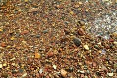 Stenen op de kust van het Rode Overzees royalty-vrije stock afbeelding