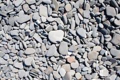 Stenen op een strand royalty-vrije stock afbeeldingen
