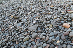 Stenen op het strand Royalty-vrije Stock Foto's