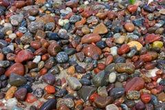 Stenen op het strand Royalty-vrije Stock Foto