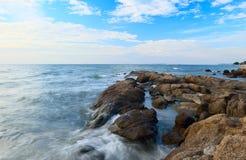 Stenen op het water Royalty-vrije Stock Fotografie