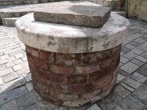 Stenen på det gammalt maler i Montenegro Royaltyfri Foto
