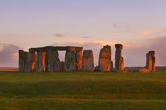 Stenen in rood Royalty-vrije Stock Fotografie