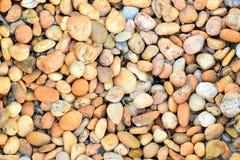 Stenen in tuin Stock Fotografie