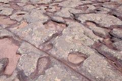 Stenen vaggar bildande av Morro gör överst det Pai Inacio berget, den Chapada Diamantina nationalparken, Lencois, Bahia, Brasilie royaltyfri bild