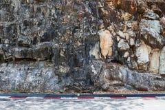 Stenen vaggar textur Arkivfoto