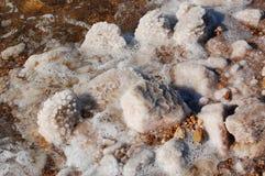 Stenen van zout Stock Afbeeldingen
